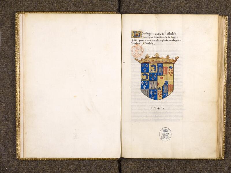 CHANTILLY, Bibliothèque du château, 0323 (0704), f. 000Bv - 001
