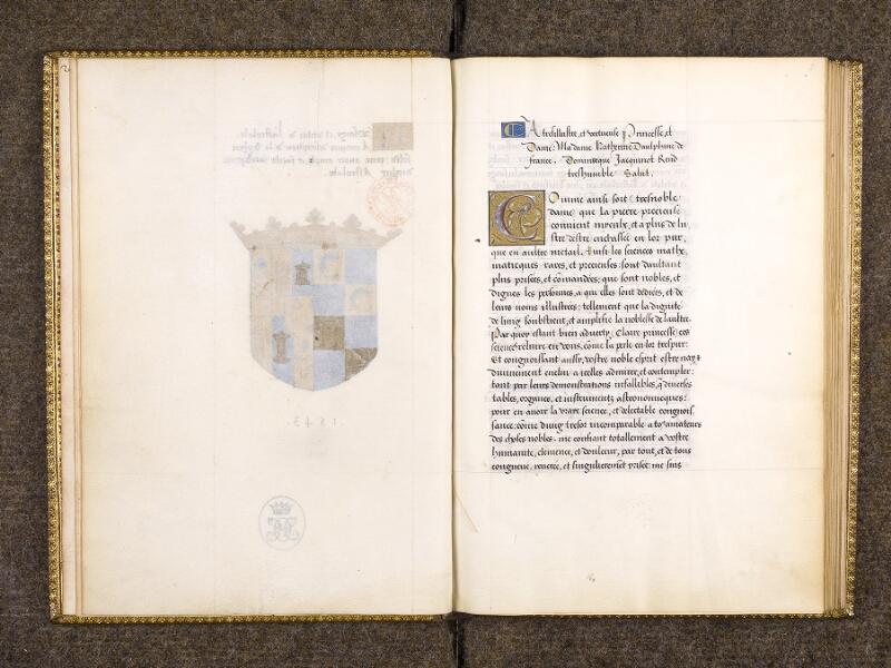 CHANTILLY, Bibliothèque du château, 0323 (0704), f. 001v - 002