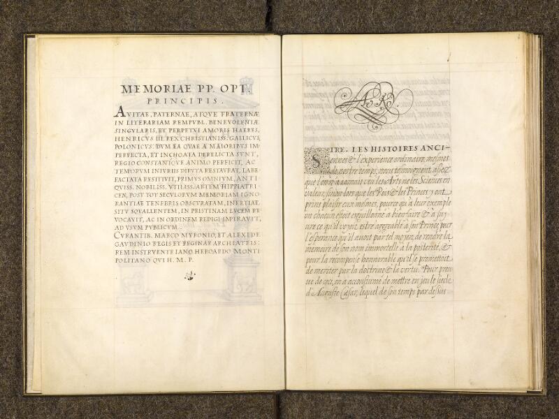 CHANTILLY, Bibliothèque du château, 0337 (1482), f. 001v - 002