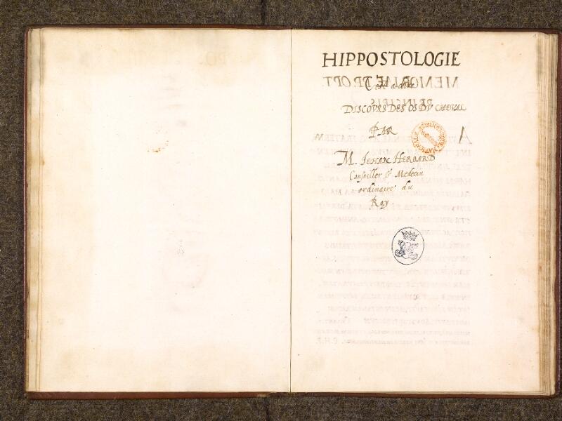 CHANTILLY, Bibliothèque du château, 0338 (0742), f. 000Bv - 001