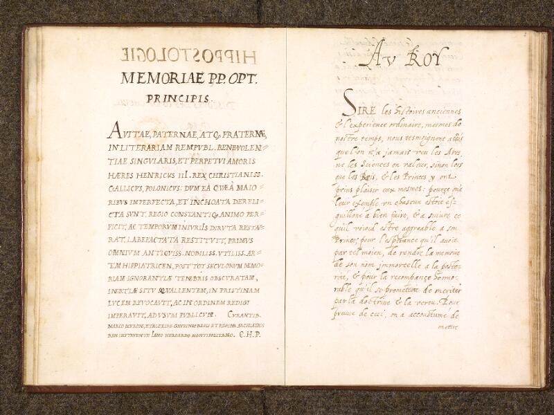 CHANTILLY, Bibliothèque du château, 0338 (0742), f. 001v - 002