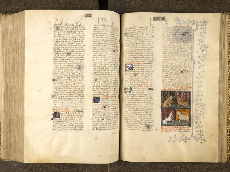 CHANTILLY, Bibliothèque du château, 0339 (1223), f. 270v - 271