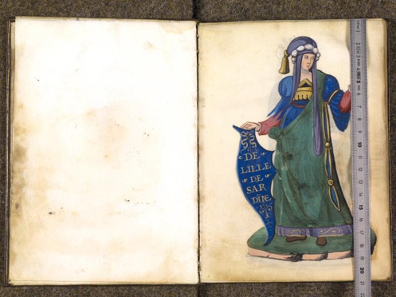CHANTILLY, Bibliothèque du château, 0389 (1494), f. 000Av - 001 avec réglet