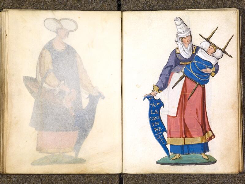 CHANTILLY, Bibliothèque du château, 0389 (1494), f. 021v - 022