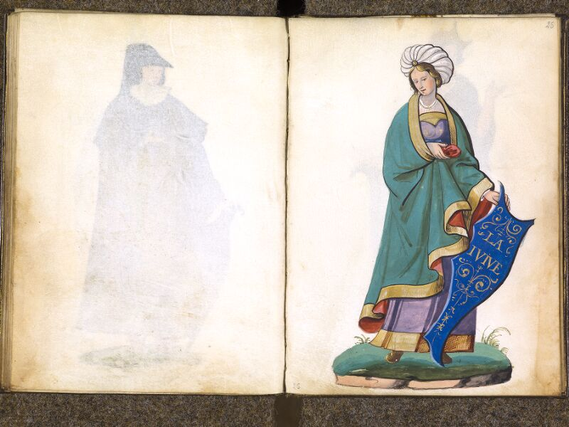 CHANTILLY, Bibliothèque du château, 0389 (1494), f. 024v - 025