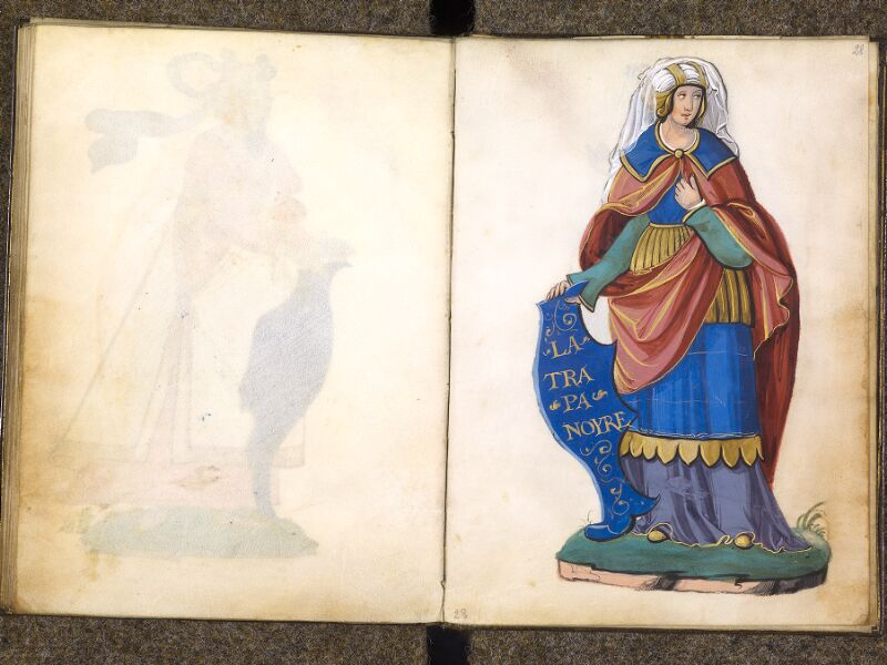 CHANTILLY, Bibliothèque du château, 0389 (1494), f. 027v - 028