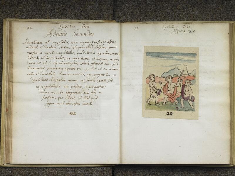 CHANTILLY, Bibliothèque du château, 0416 (1005), p. 042 - 043
