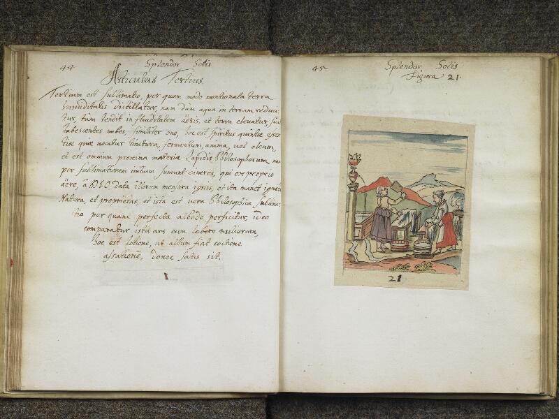 CHANTILLY, Bibliothèque du château, 0416 (1005), p. 044 - 045