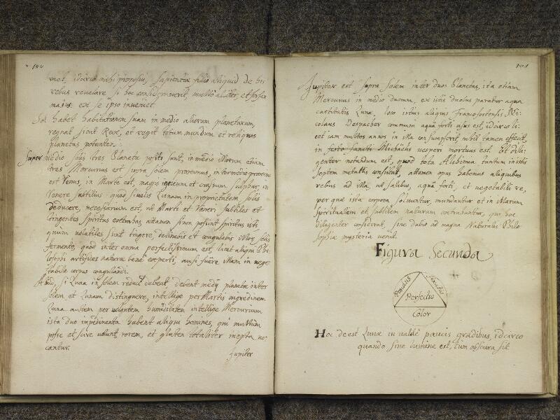 CHANTILLY, Bibliothèque du château, 0416 (1005), p. 100 - 101