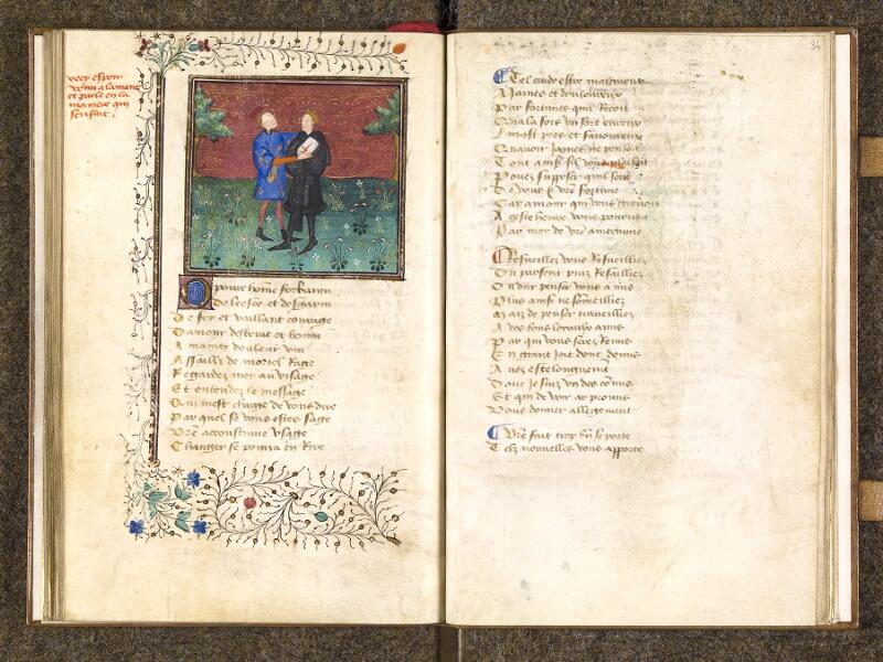 CHANTILLY, Bibliothèque du château, 0498 (1569), f. 033v - 034
