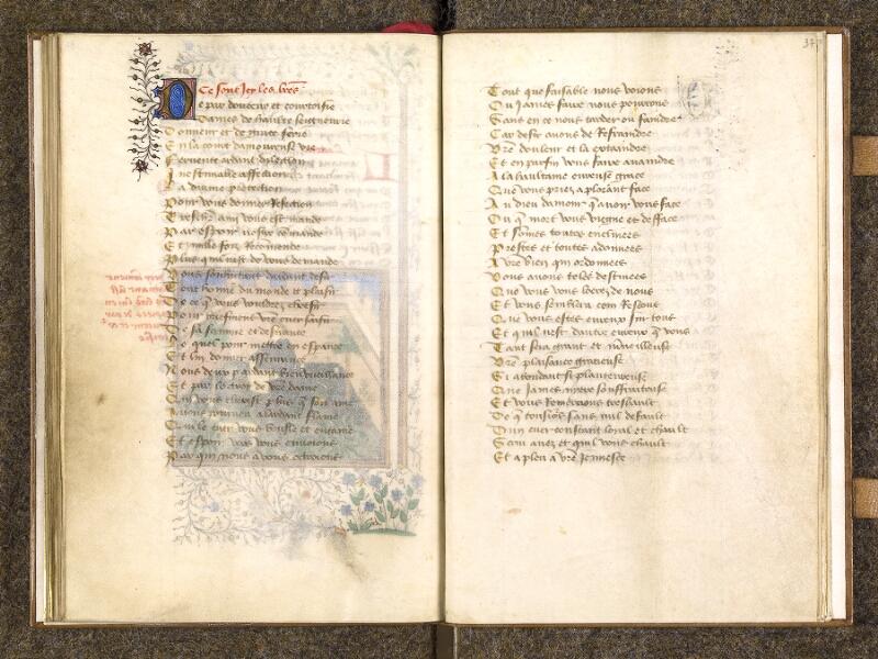CHANTILLY, Bibliothèque du château, 0498 (1569), f. 036v - 037