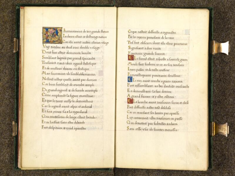 CHANTILLY, Bibliothèque du château, 0508 (1489), f. 005v - 006
