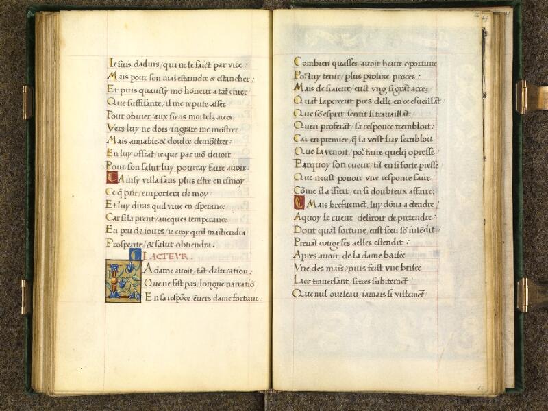 CHANTILLY, Bibliothèque du château, 0508 (1489), f. 065v - 066