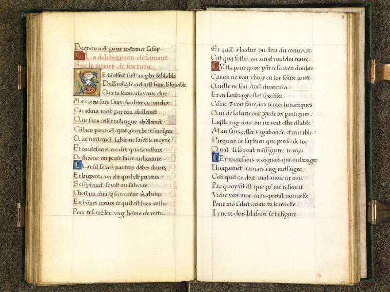 CHANTILLY, Bibliothèque du château, 0508 (1489), f. 070v - 071
