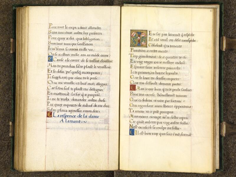 CHANTILLY, Bibliothèque du château, 0508 (1489), f. 082v - 083