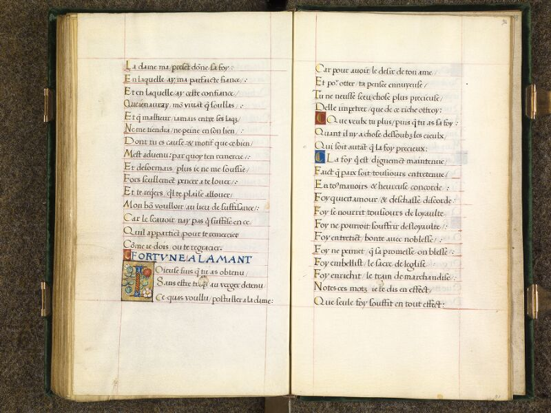 CHANTILLY, Bibliothèque du château, 0508 (1489), f. 090v - 091