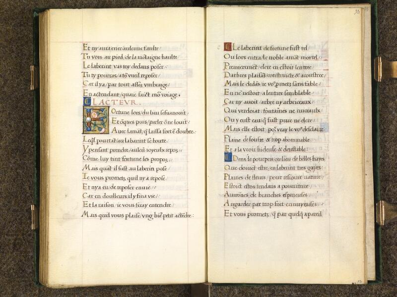 CHANTILLY, Bibliothèque du château, 0508 (1489), f. 092v - 093