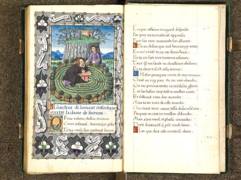 CHANTILLY, Bibliothèque du château, 0508 (1489), f. 094v - 095
