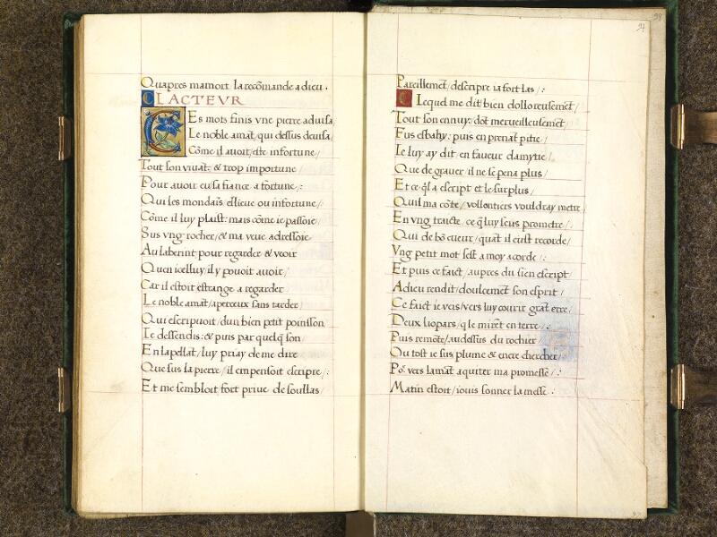 CHANTILLY, Bibliothèque du château, 0508 (1489), f. 096v - 097