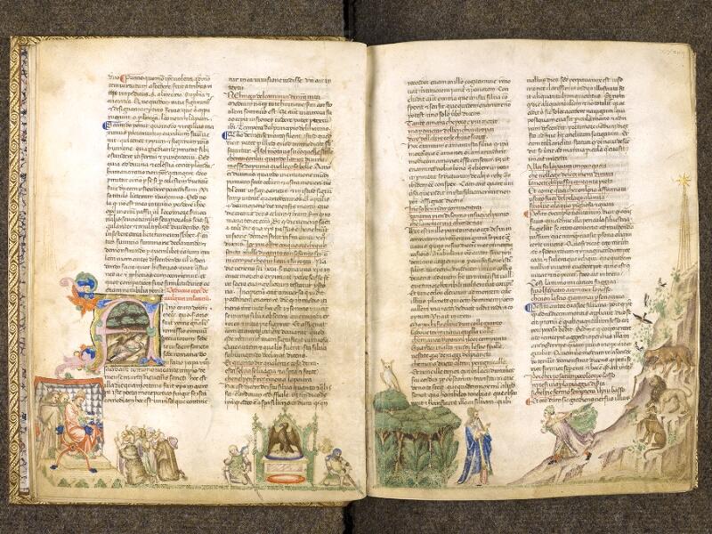 CHANTILLY, Bibliothèque du château, 0597 (1424), f. 033v - 034