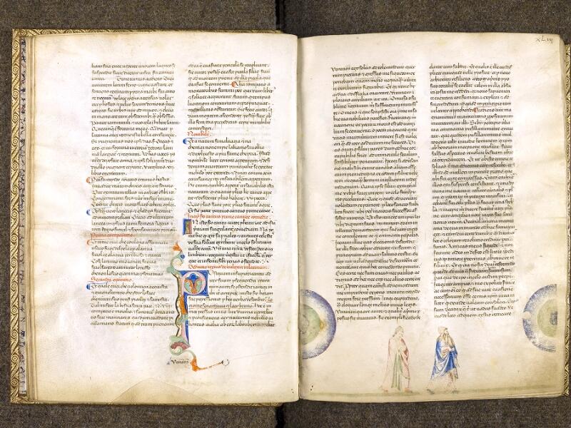 CHANTILLY, Bibliothèque du château, 0597 (1424), f. 042v - 043