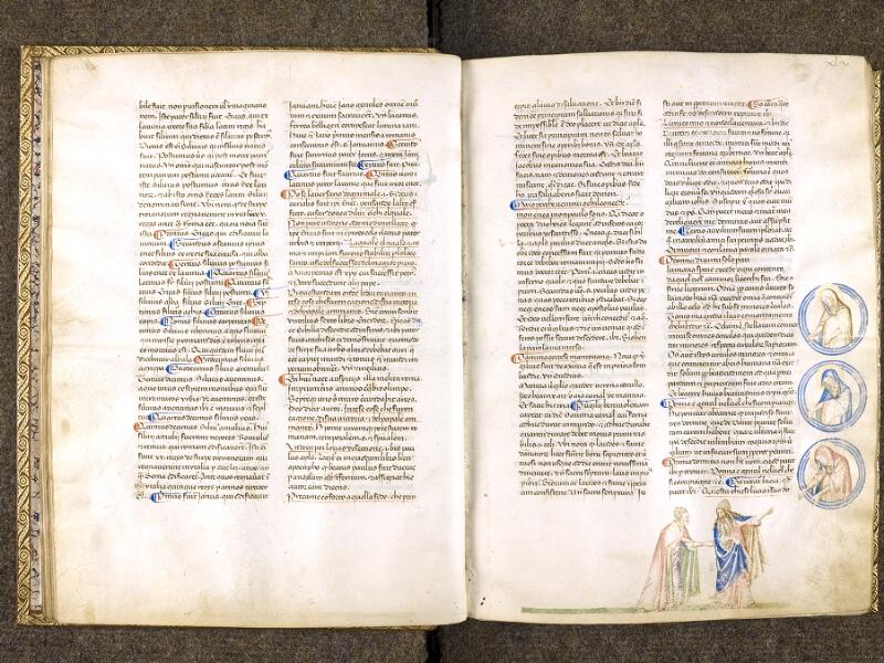 CHANTILLY, Bibliothèque du château, 0597 (1424), f. 044v - 045