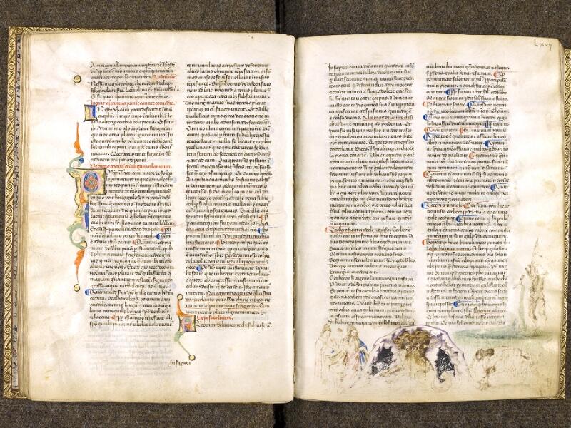 CHANTILLY, Bibliothèque du château, 0597 (1424), f. 066v - 067
