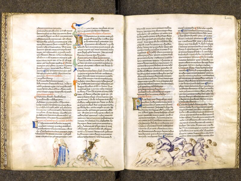 CHANTILLY, Bibliothèque du château, 0597 (1424), f. 070v - 071