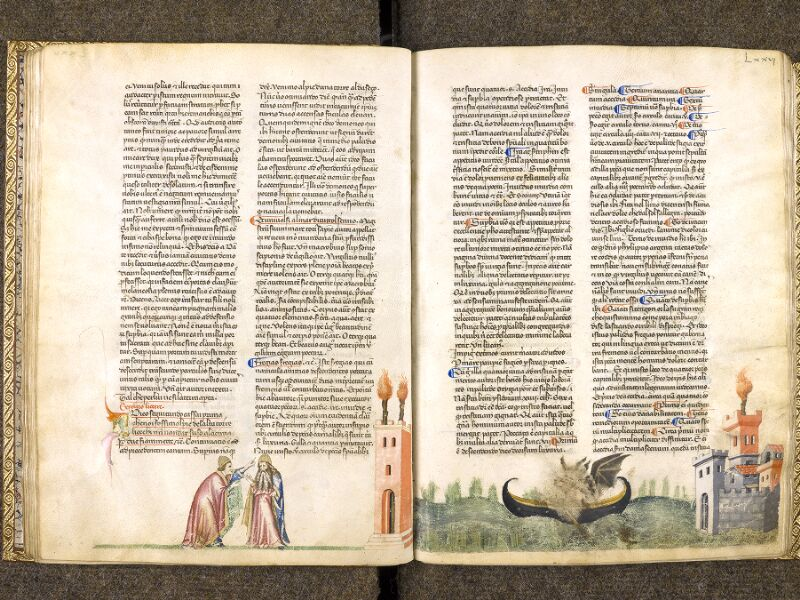CHANTILLY, Bibliothèque du château, 0597 (1424), f. 075v - 076