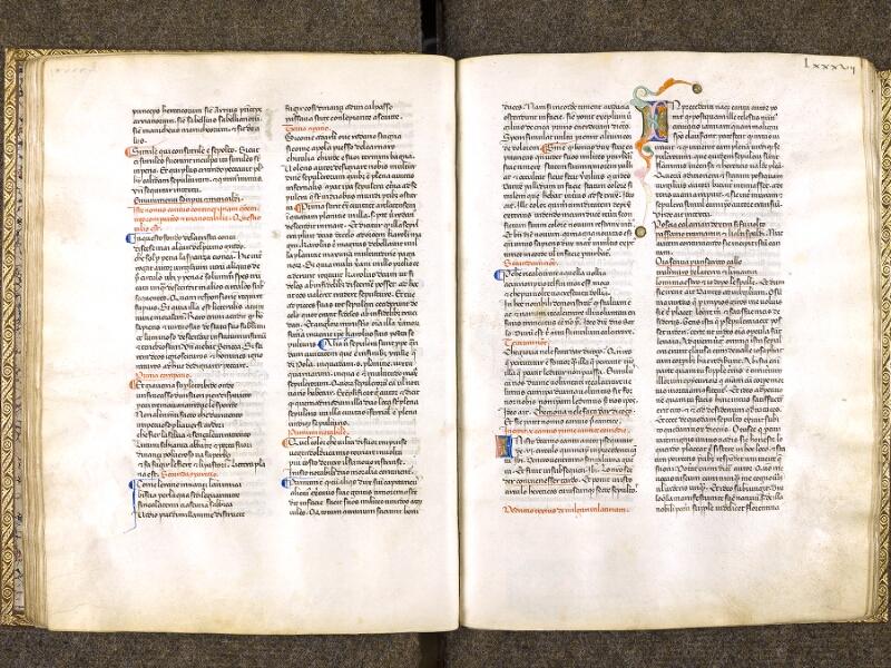 CHANTILLY, Bibliothèque du château, 0597 (1424), f. 086v - 087