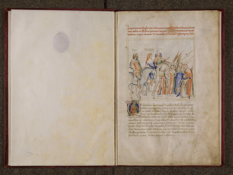 CHANTILLY, Bibliothèque du château, 0599 (1426), contregarde - f. 001