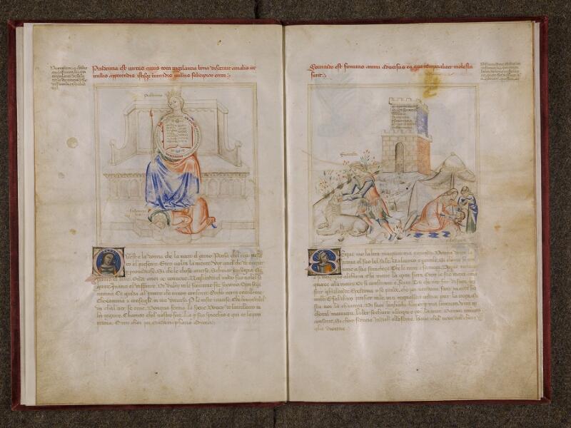 CHANTILLY, Bibliothèque du château, 0599 (1426), f. 002v - 003