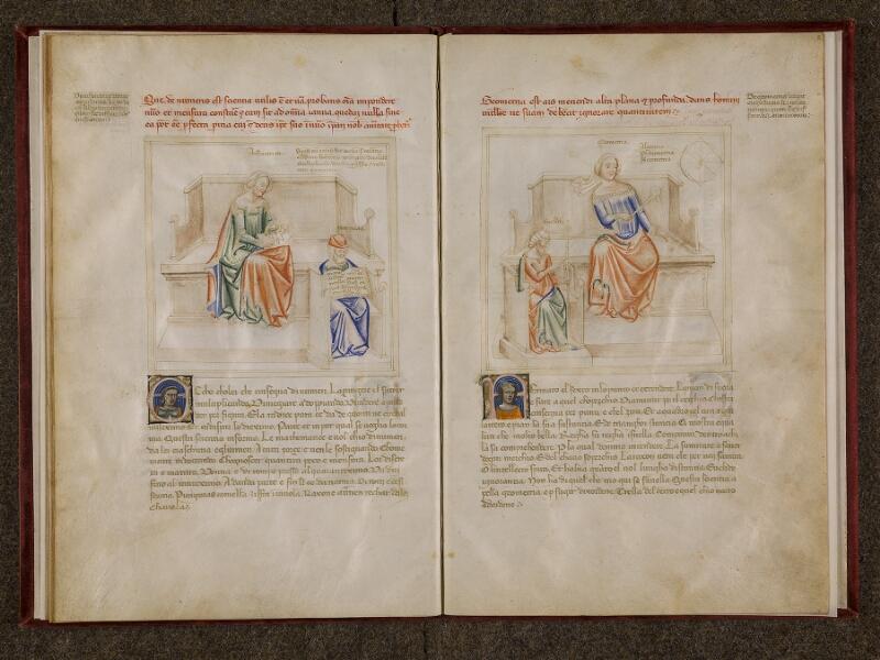 CHANTILLY, Bibliothèque du château, 0599 (1426), f. 008v - 009
