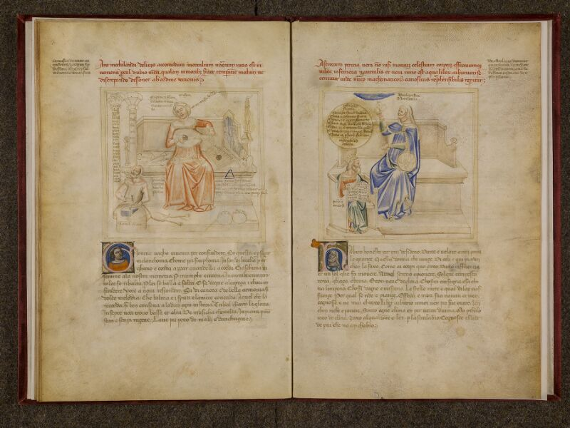 CHANTILLY, Bibliothèque du château, 0599 (1426), f. 009v - 010