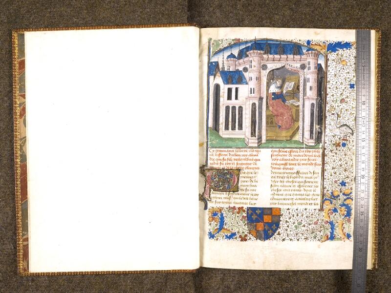 CHANTILLY, Bibliothèque du château, 0651 (1486), f. 000Av - 001 avec réglet
