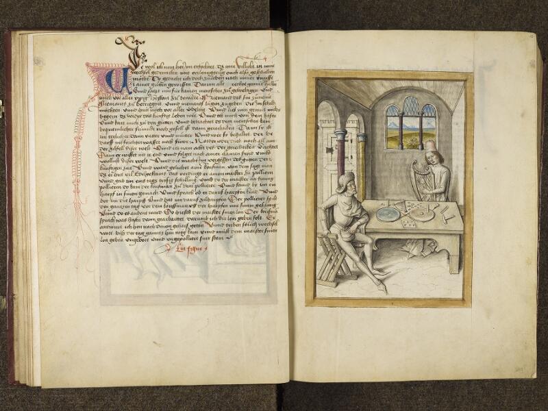 CHANTILLY, Bibliothèque du château, 0680 (1389), f. 018v - 019