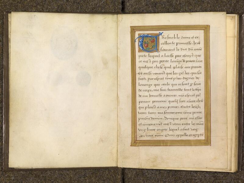 CHANTILLY, Bibliothèque du château, 0682 (1529), contregarde - f. 001