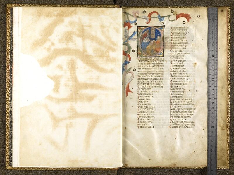 CHANTILLY, Bibliothèque du château, 0683 (1427), f. 000Av - 001 avec réglet