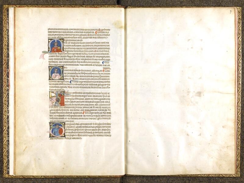 CHANTILLY, Bibliothèque du château, 0683 (1427), f. 008v - 009