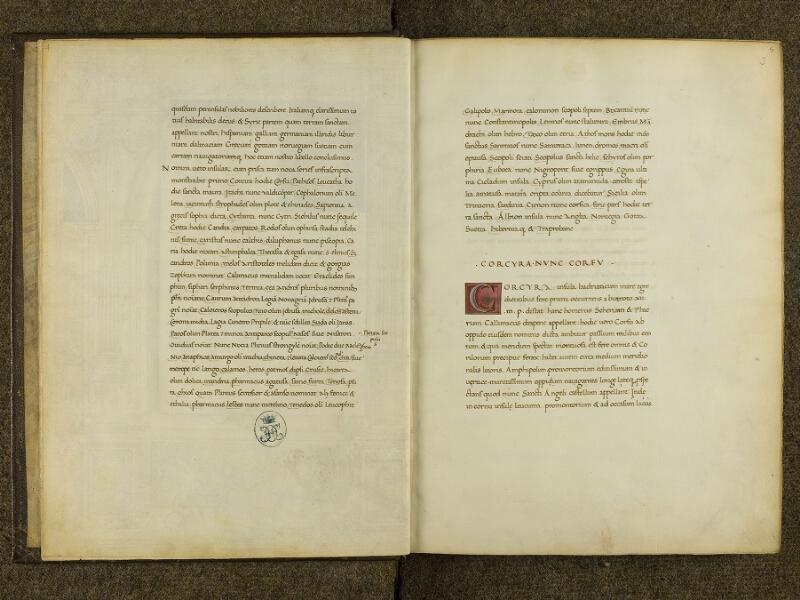 CHANTILLY, Bibliothèque du château, 0698 (0483), f. 002v  - 003