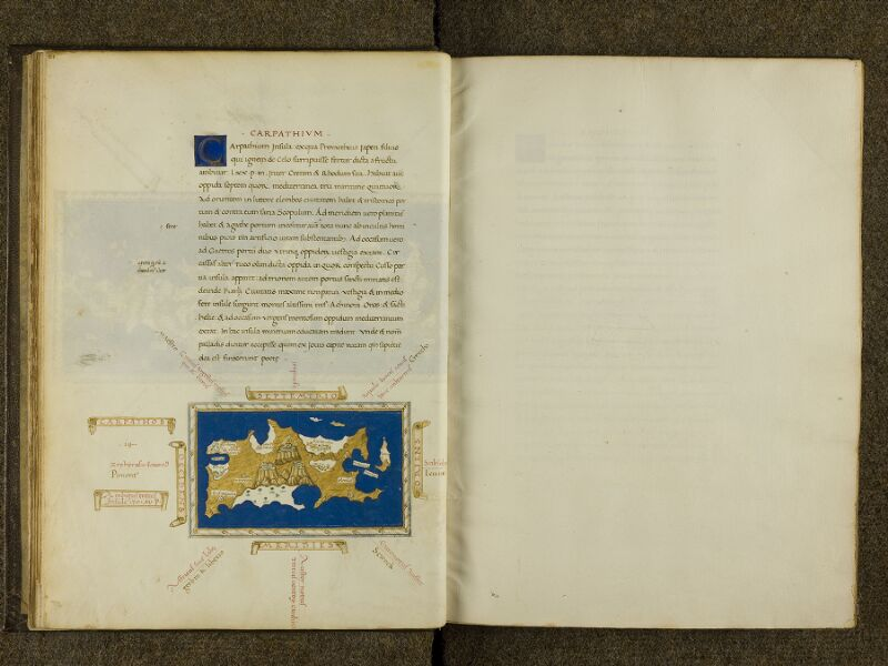 CHANTILLY, Bibliothèque du château, 0698 (0483), f. 011v - feuillet vierge
