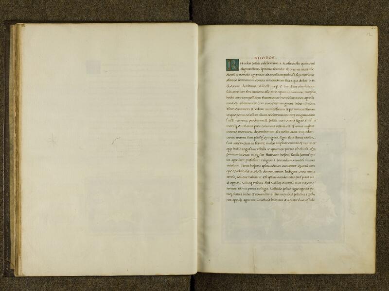 CHANTILLY, Bibliothèque du château, 0698 (0483), feuillet vierge - 012