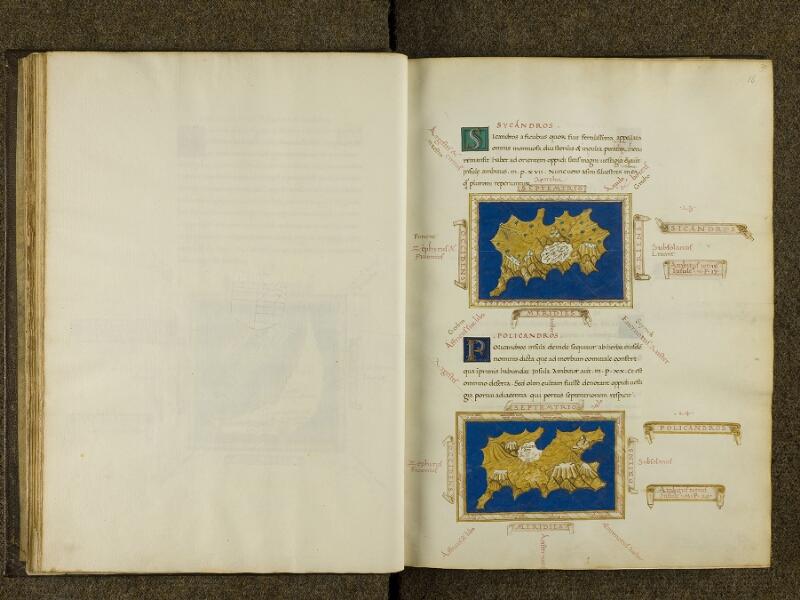 CHANTILLY, Bibliothèque du château, 0698 (0483), feuillet vierge - 16
