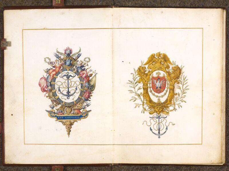 CHANTILLY, Bibliothèque du château, 0700 (1602), f. 001v - 002