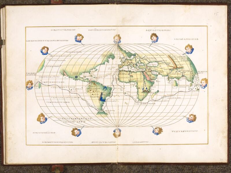 CHANTILLY, Bibliothèque du château, 0700 (1602), f. 014v - 015