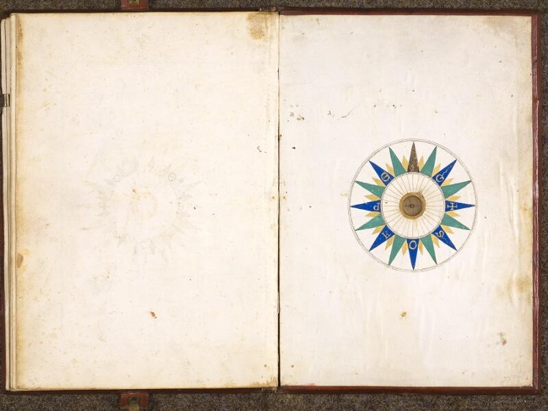 CHANTILLY, Bibliothèque du château, 0700 (1602), contreplat inférieur