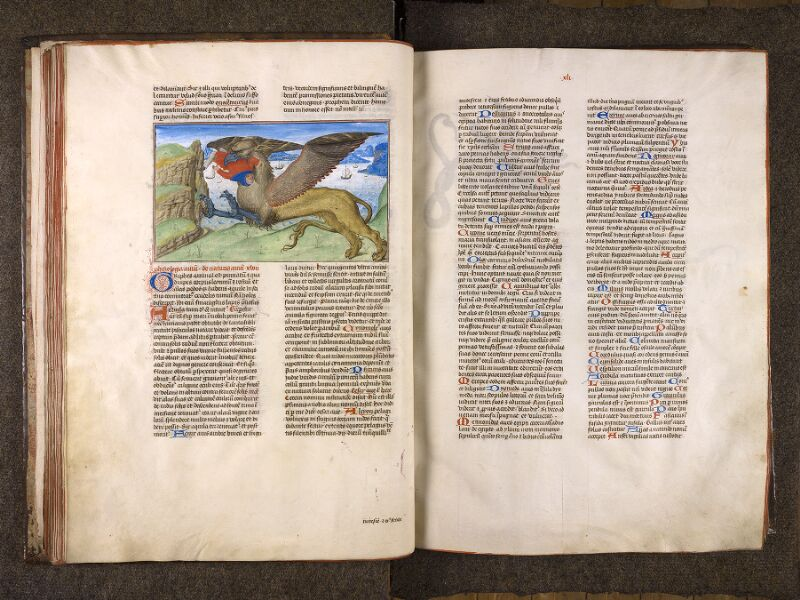 CHANTILLY, Bibliothèque du château, 0724 (1596), f. 040v - 041