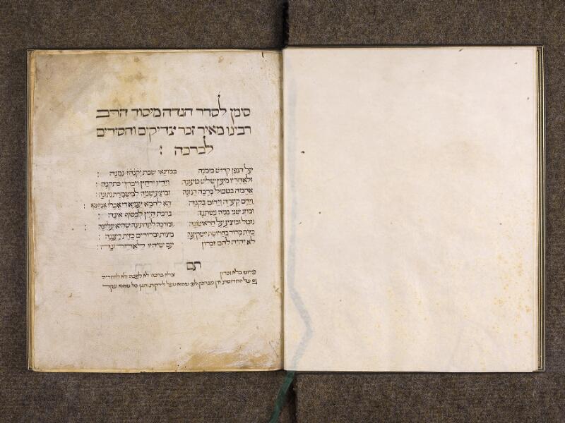 CHANTILLY, Bibliothèque du château, 0732 (1352), f. 000Bv - 001