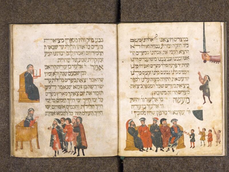 CHANTILLY, Bibliothèque du château, 0732 (1352), f. 008v - 009