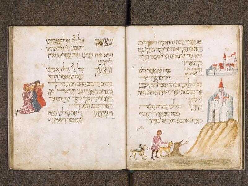 CHANTILLY, Bibliothèque du château, 0732 (1352), f. 013v - 014